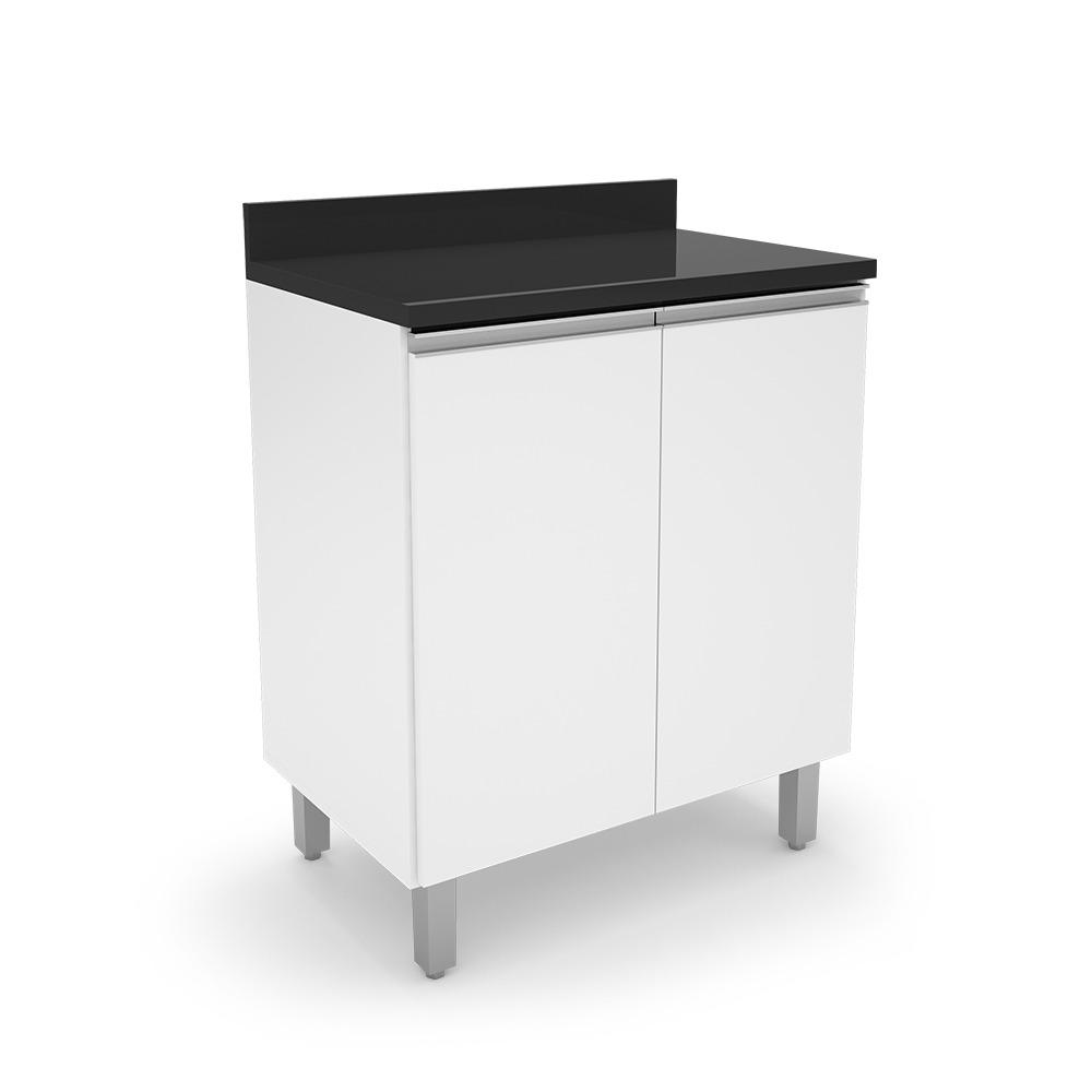 Gabinete Cozinha 2 Portas Top Class Branco - Batrol