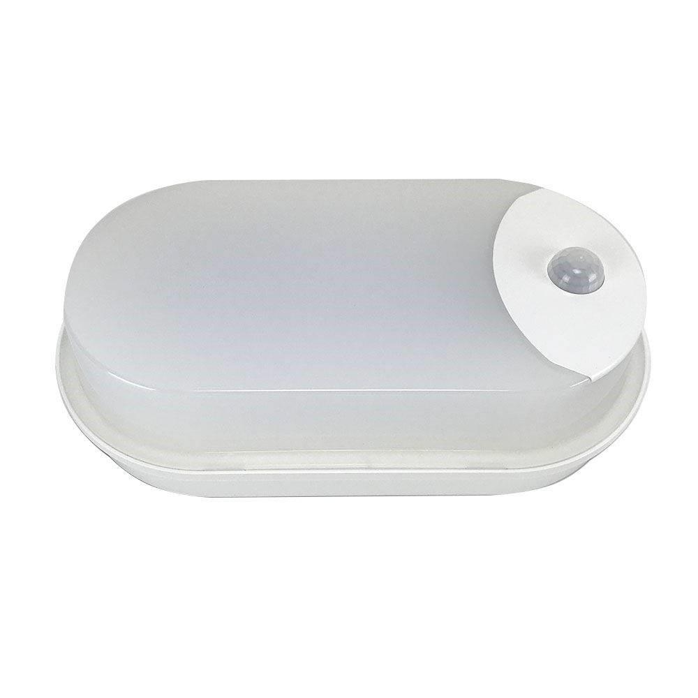 Luminaria Externa LED PLS Tartaruga com Sensor 6500K Bivolt - Taschibra