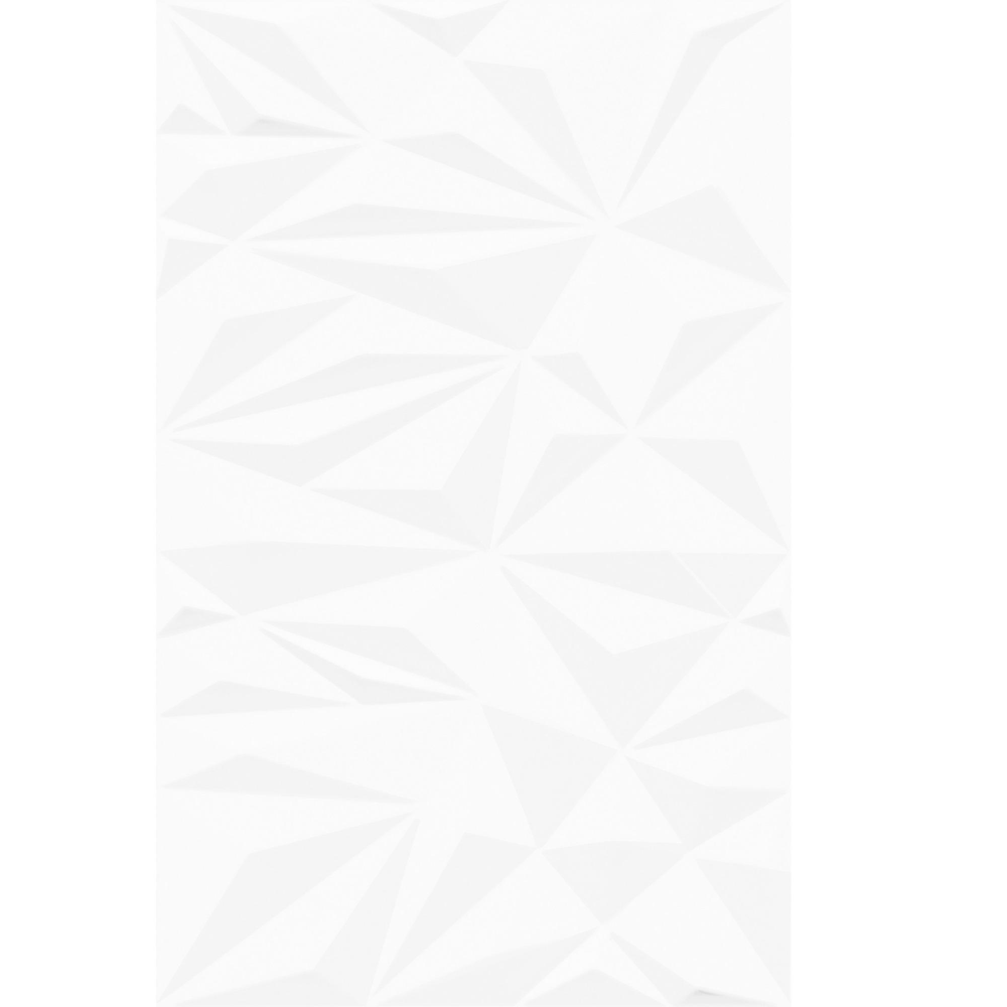 Revestimento Cadiz Esmaltado Brilhante HD Tipo A Borda Bold 37x59cm 239m Branco - Arielle