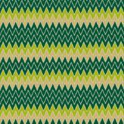 Tapete para Banheiro Soft Ziga Zag 100x43cm Verde - Kapazi
