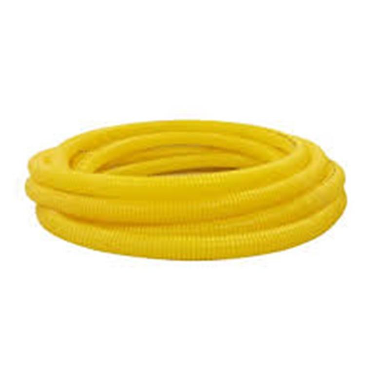 Eletroduto Flexivel Corrugado PVC DN 32 mm 1 x 7m Amarelo - Amanco