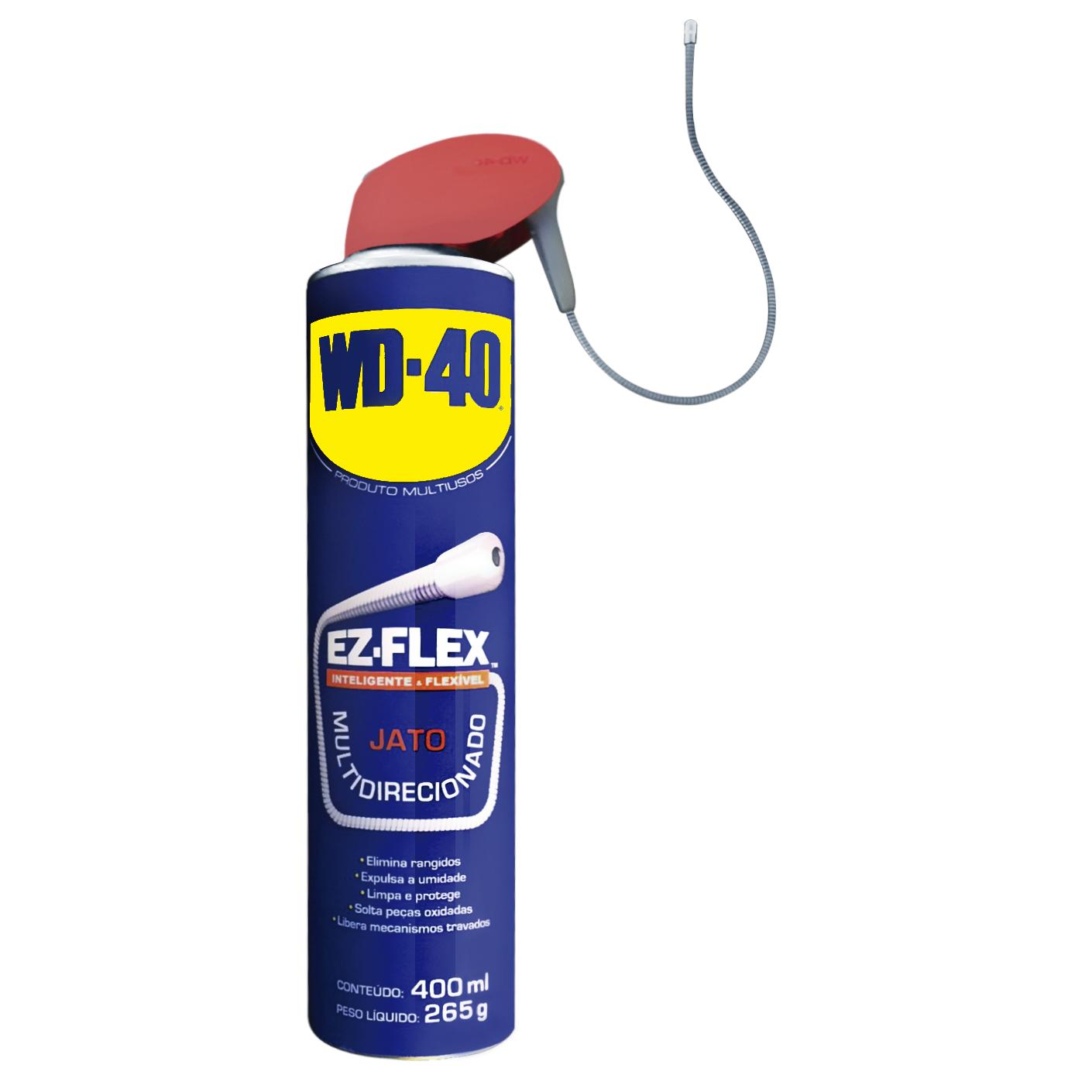 Oleo Spray Anticorrosivo WD-40 Flex 400 ml