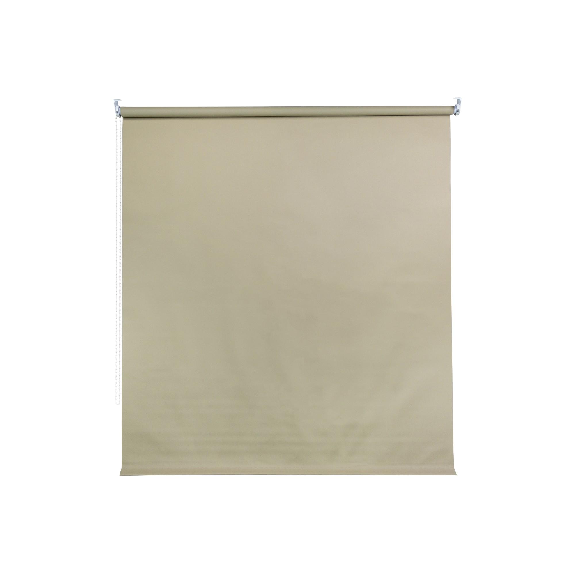 Persiana Rolo Poliester 140x170 cm Marfim D48-3 - Jolie