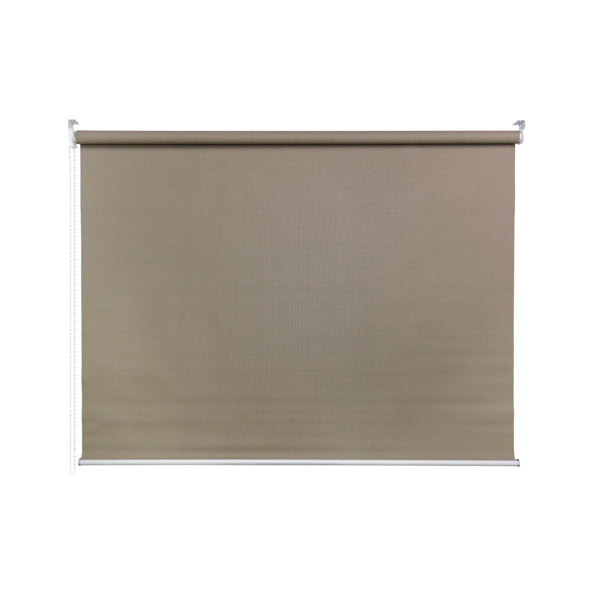 Persiana Rolo Poliester e PVC 80x170 cm Marrom 50A09 - Jolie