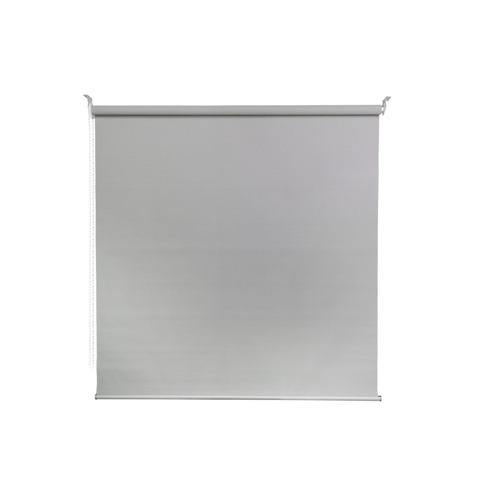 Persiana Rolo Poliester e PVC 140x170 cm Cinza 50A10 - Jolie