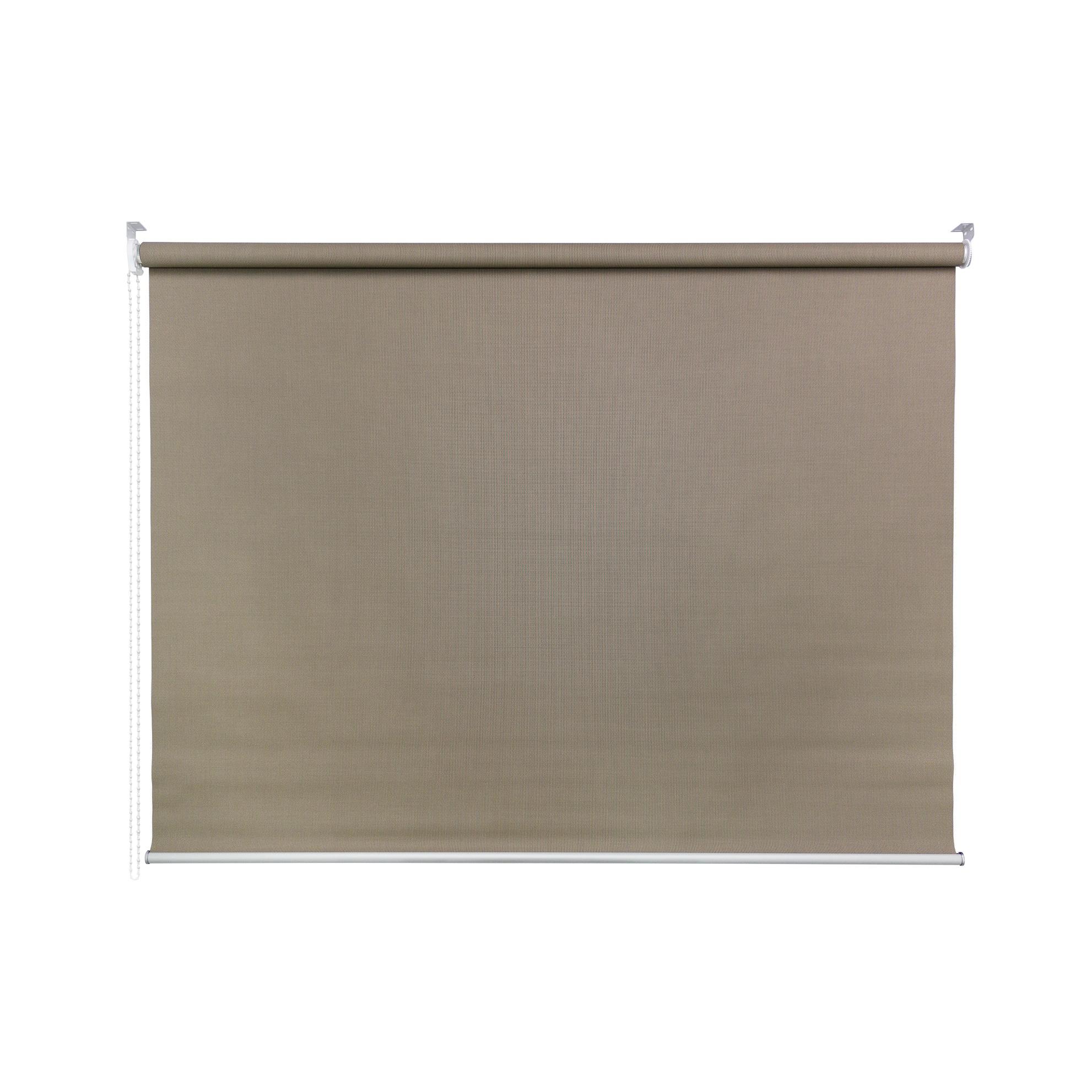 Persiana Rolo Poliester e PVC 160x170 cm Marrom 50A09 - Jolie