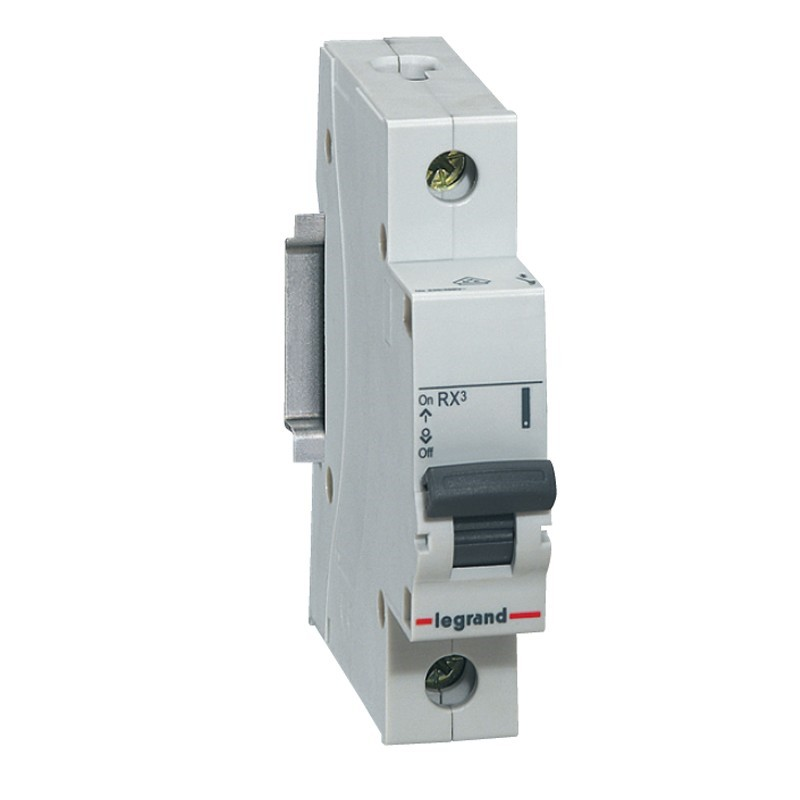 Disjuntor DIN Monopolar 230400 VCA 63A Tipo C - Legrand 419301