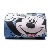 Edredom Infantil Mickey Aviador 100% Agodão Azul Deni 150x220 cm