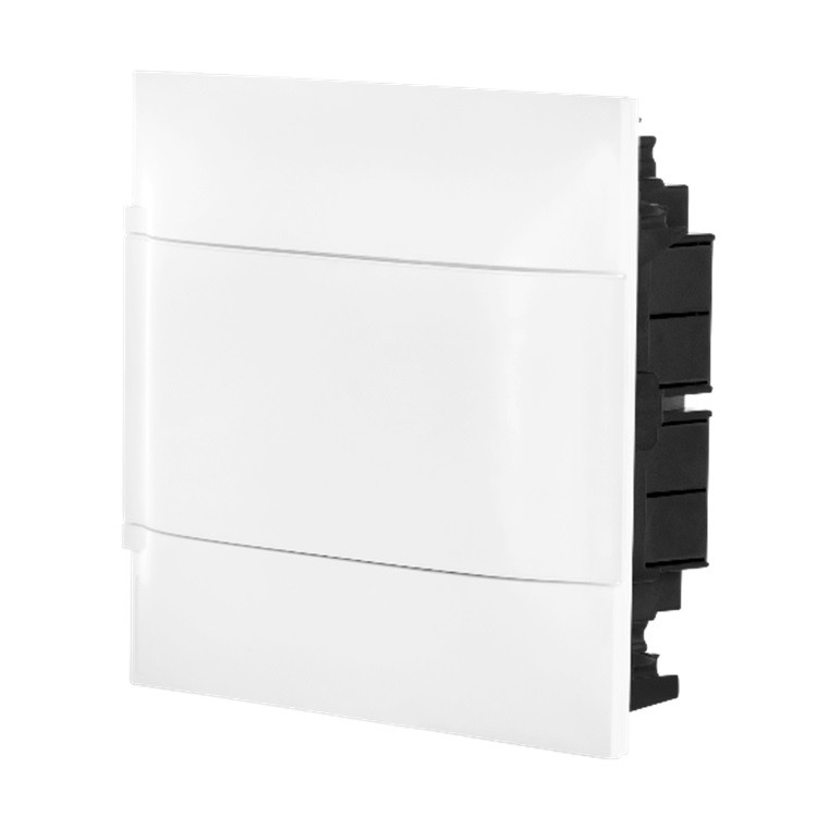 Quadro de Distribuicao Embutir Universal Branco 134008 08 Modulos DIN - Cemar