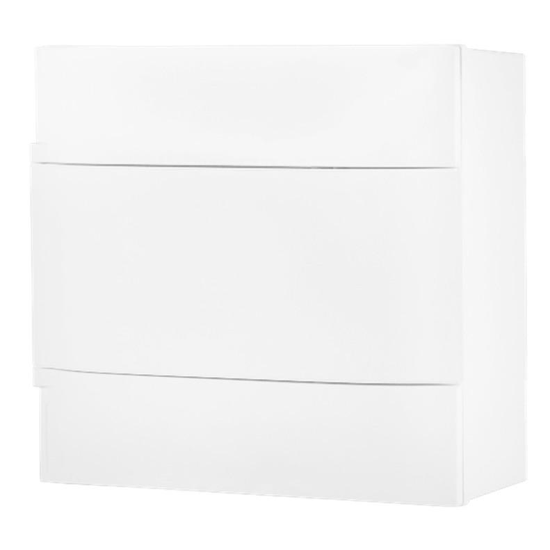 Quadro de Distribuicao Sobrepor Universal Branco 134108 08 Modulos DIN - Cemar