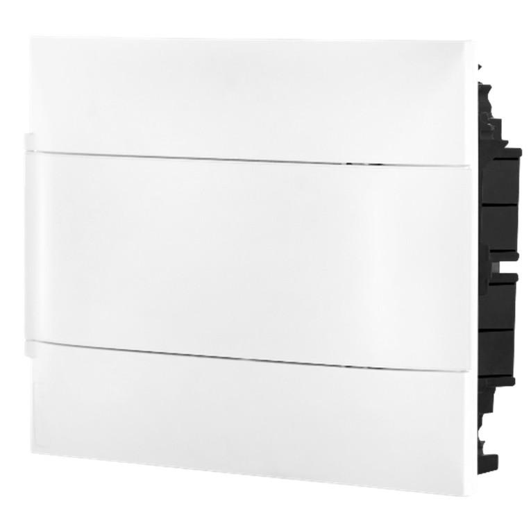 Quadro de Distribuicao Embutir Universal Branco 135001 12 Modulos DIN - Cemar