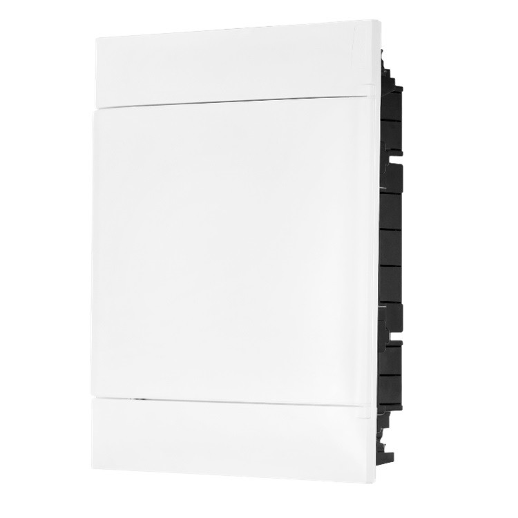 Quadro de Distribuicao Embutir Universal Branco 135002 24 Modulos DIN - Cemar