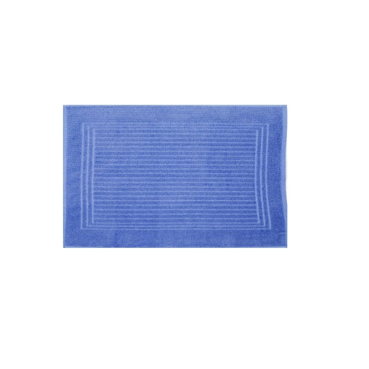 Toalha de Piso Santista Cedro 45x70 cm 100 algodao Felpuda - Azul