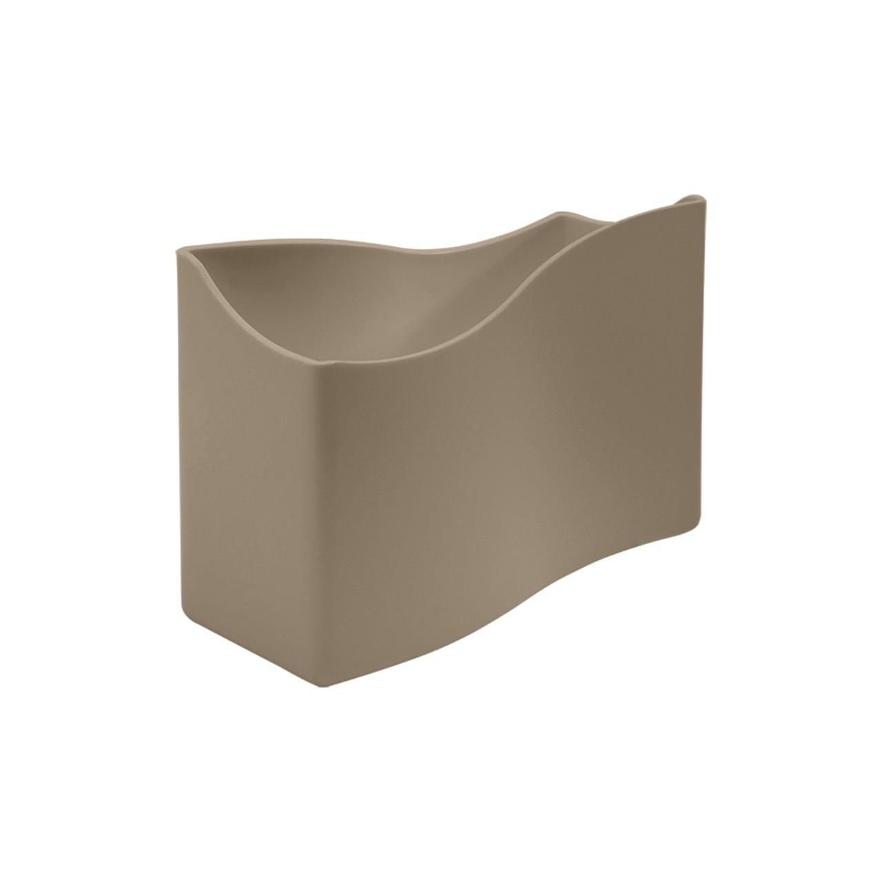 Porta-guardanapo de Plastico Warm gray - 105000126 - Coza