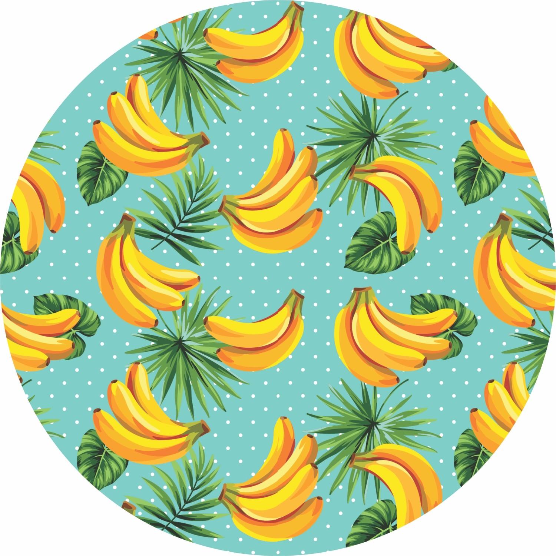 Capa para Sousplat de Tecido Banana TTS7042 - NSW