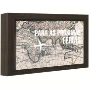 Quadro Decorativo 15x20 cm Cofre Preto 67953 - Kapos