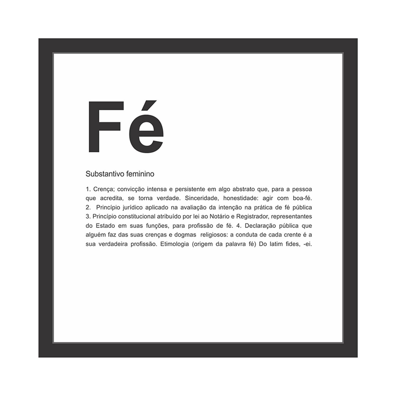 Quadro Decorativo 27x27 cm Fe 68103 - Kapos