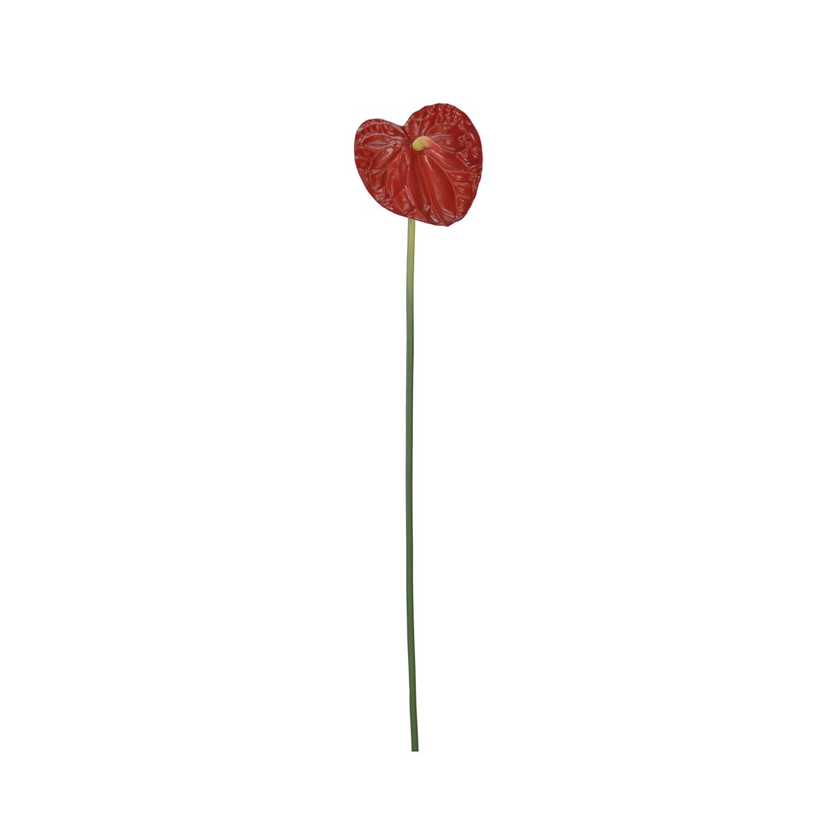 Haste Artificial Anturio 78cm Vermelho - Dea