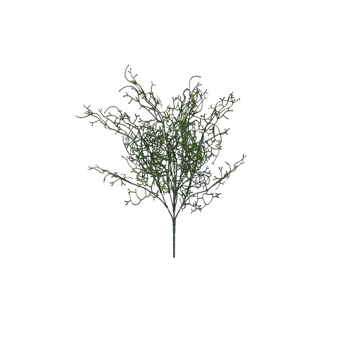 Buque de Folhagem Artificial Grass 42cm Verde - Dea