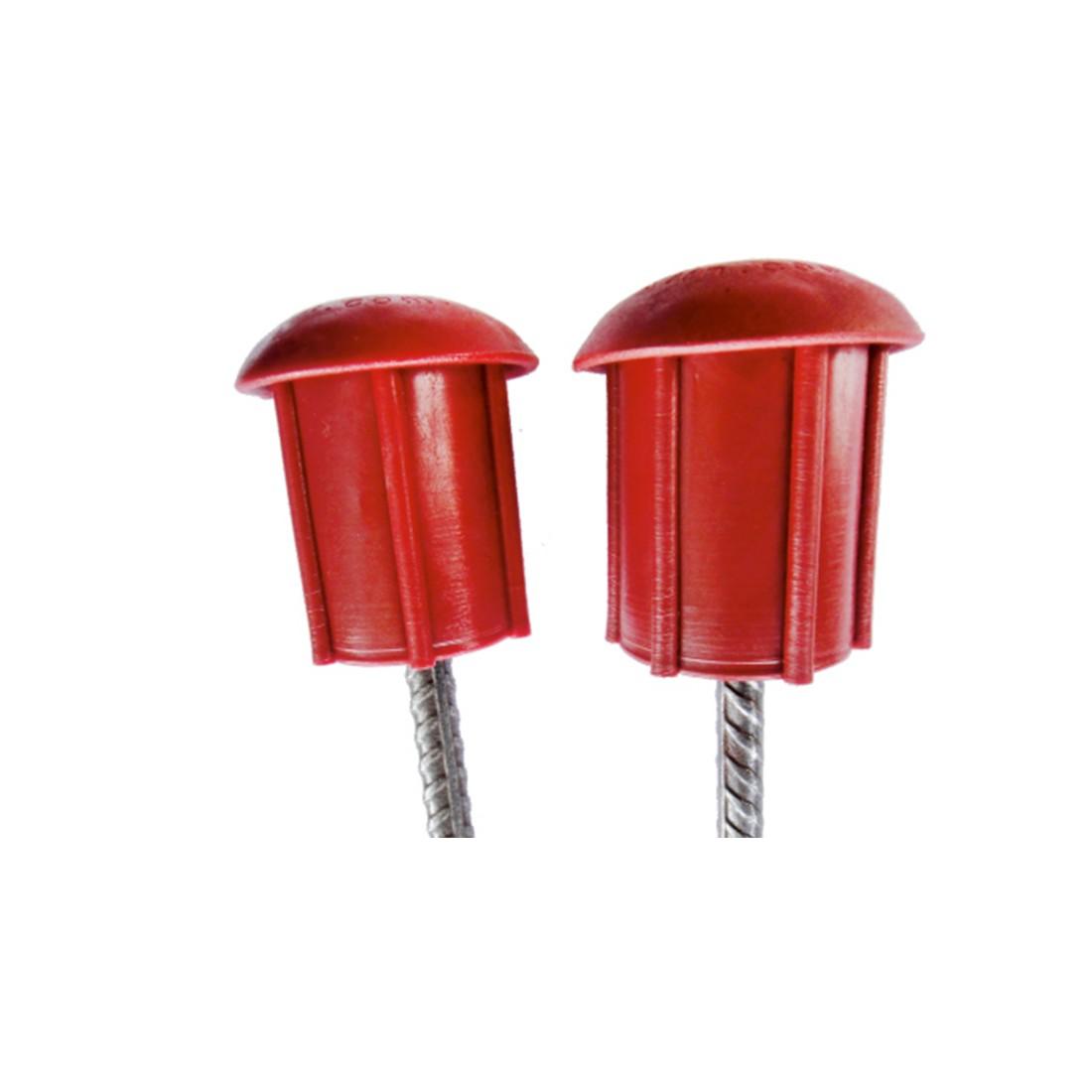 Ponteira em PVC para Protecao Vergalhao 25 Unidades- Plastin