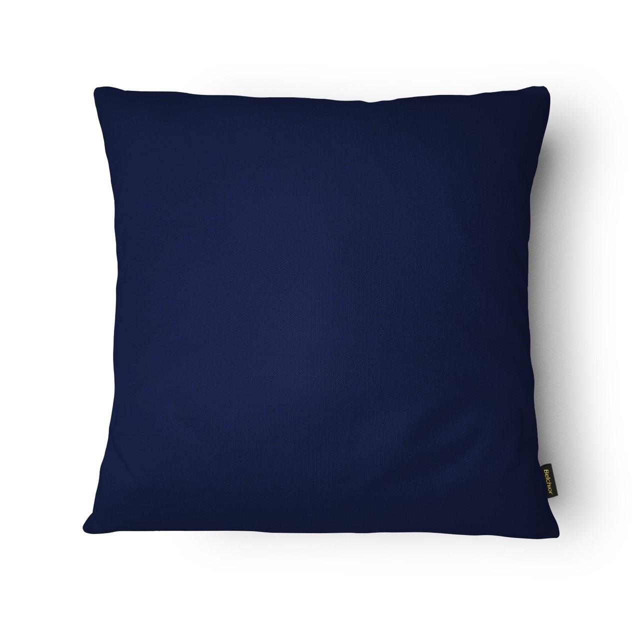 Capa de Almofada Colors 43x43 cm Azul Marinho 367037 - Belchior