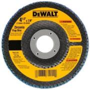 "Disco de Desbaste Flap Fibra 4.1/2""x7/8"" (115x22,23mm) Z60 - DeWalt"
