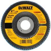 "Disco de Desbaste Flap Fibra 4.1/2""x7/8"" (115x22,23mm) Z120 - DeWalt"