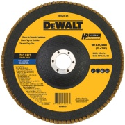 "Disco de Desbaste Flap Fibra 7""x7/8"" (180x22,23mm) Z80 - DeWalt"