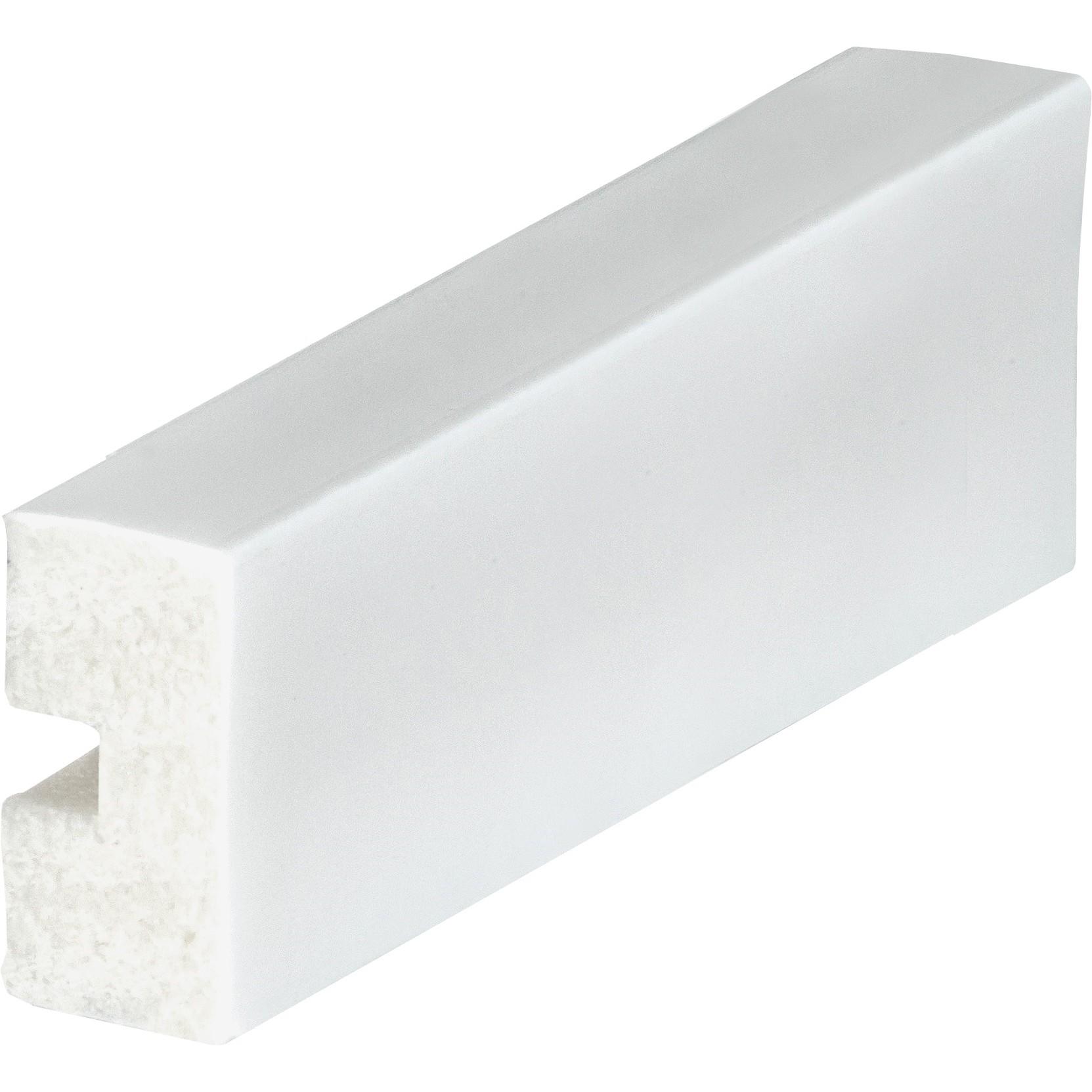 Alizar Rodameio Poliestireno Branco 3x240cm - Arquitech