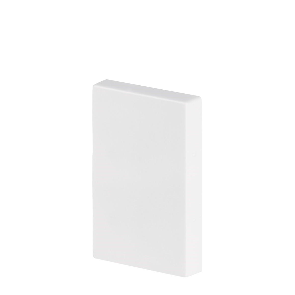 Rodape 17 x 1700 cm Poliestireno Branco