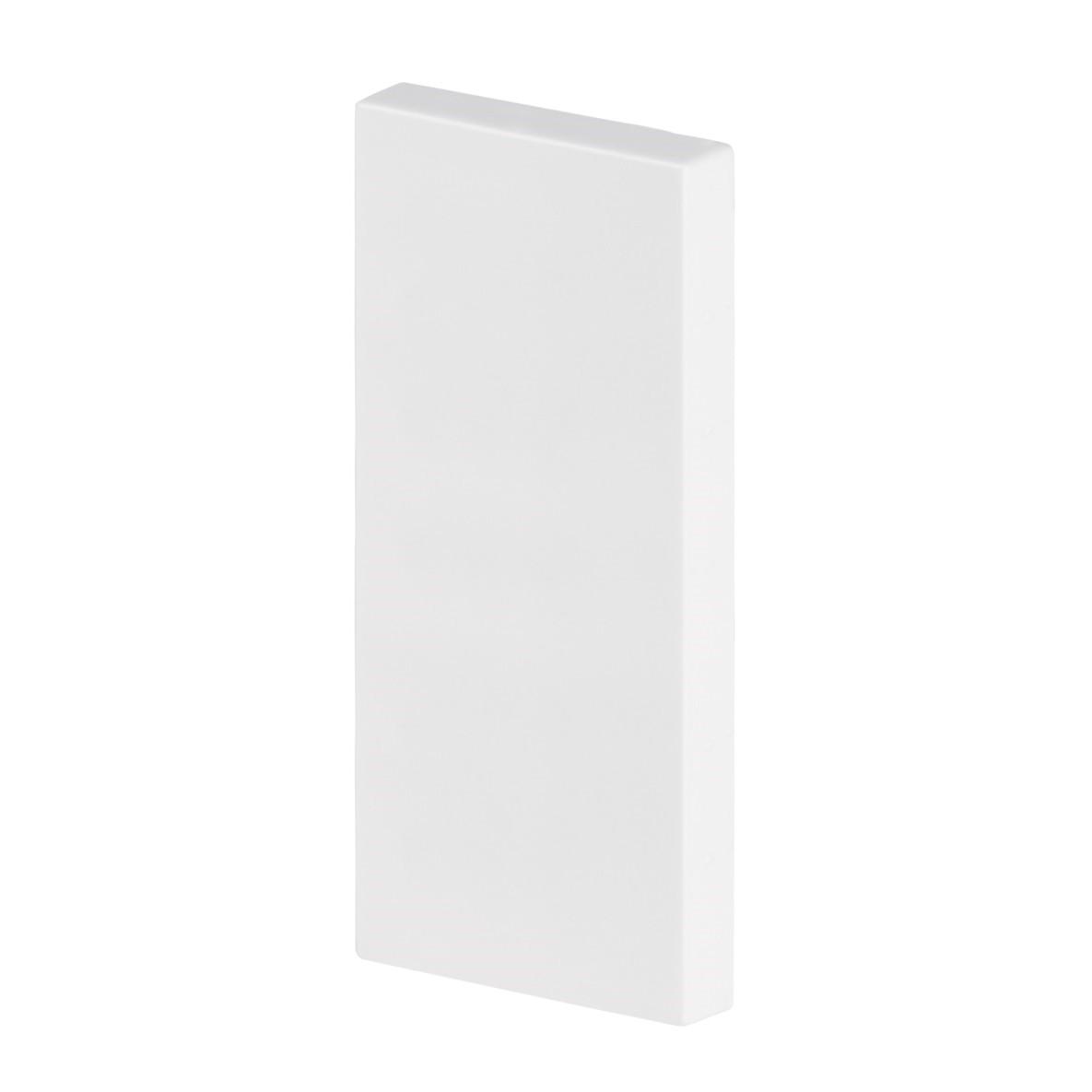 Rodape 24 x 1700 cm Poliestireno Branco - Arquitech