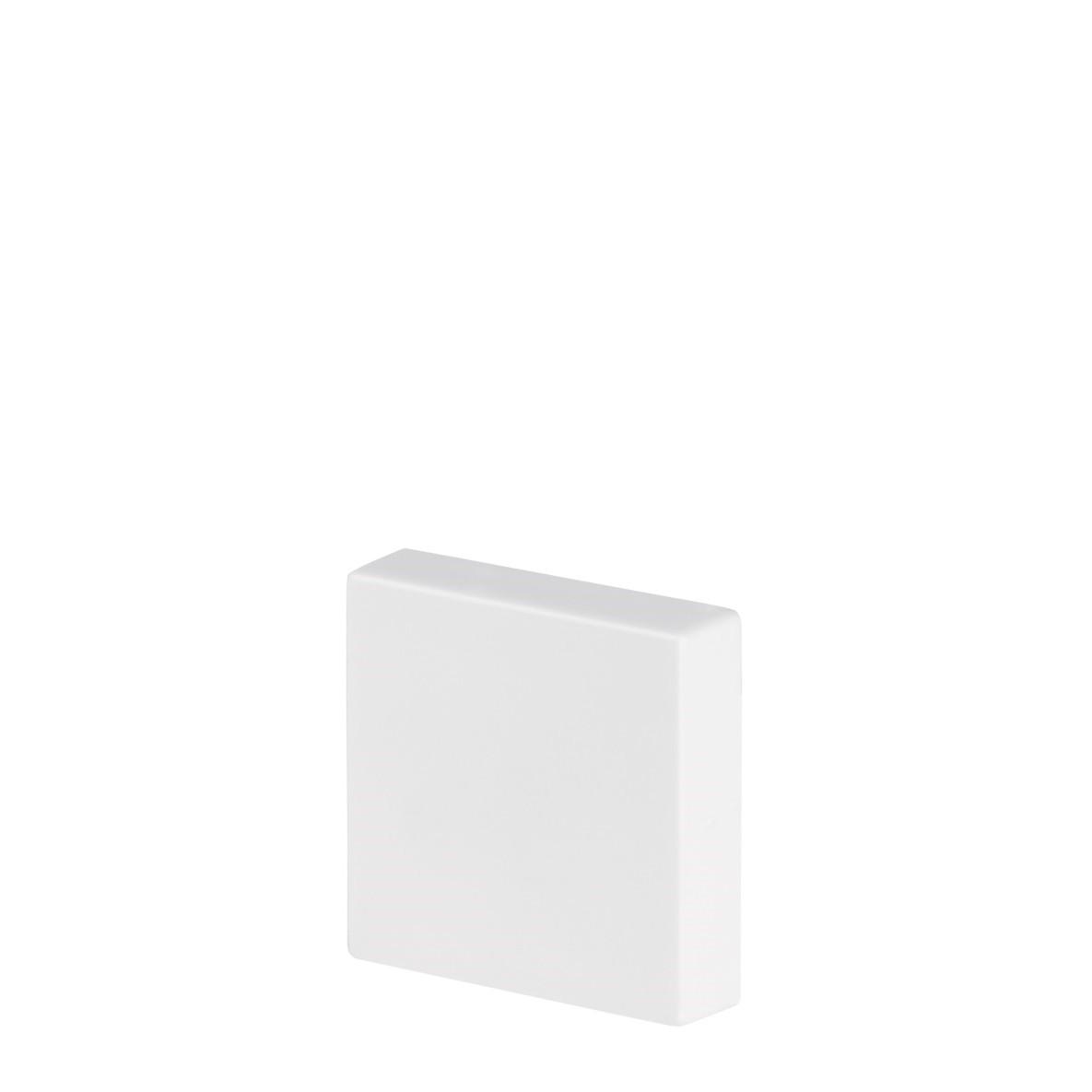 Rodape Alizar Roseta 7 x 1700 cm Poliestireno Branco - Arquitech