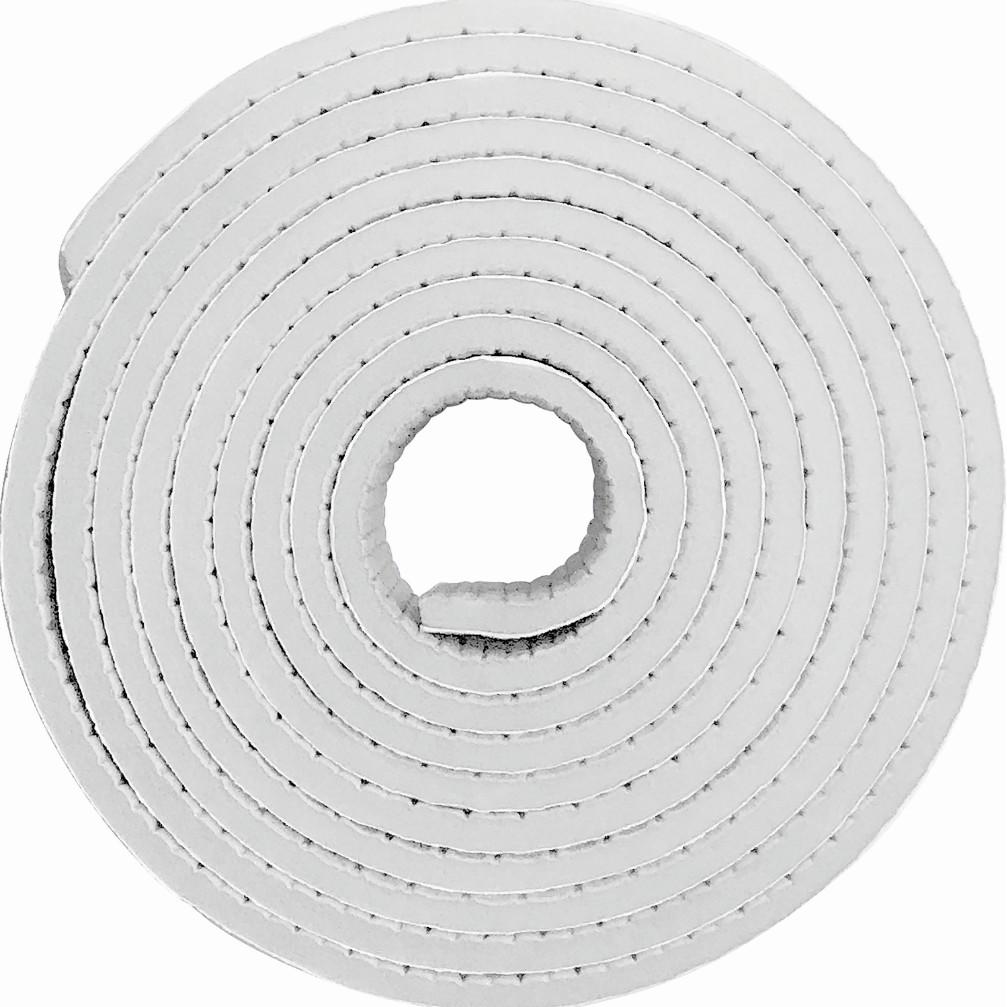 Protetor para quina de Silicone Adesivo Rolo Branco 05x35x206 cm - Buba