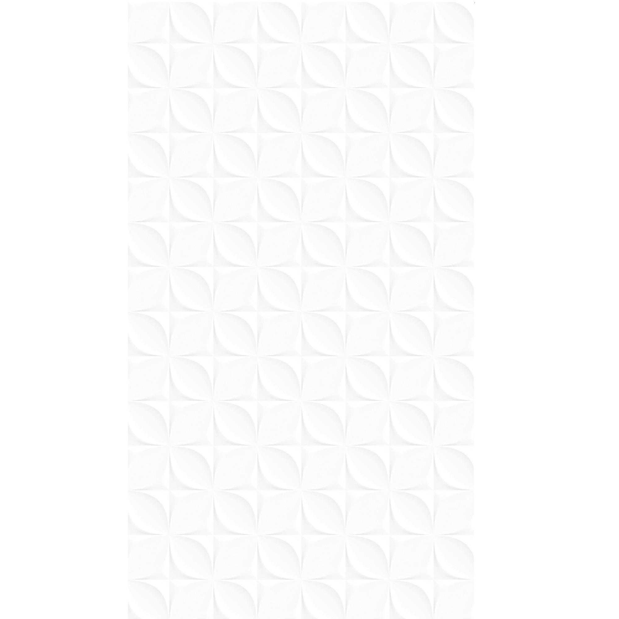 Revestimento Dover Esmaltado Brilhante Tipo A Retificado 36x58cm 232m Branco - Arielle