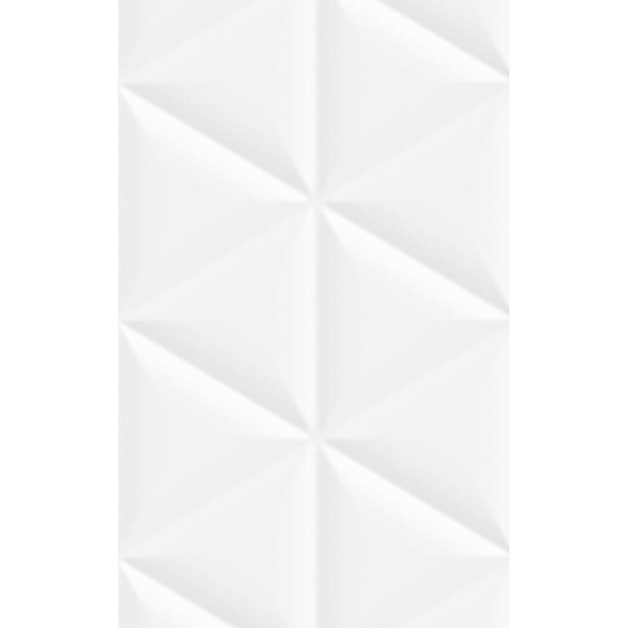 Revestimento Boulder Esmaltado Brilhante Tipo A Retificado 36x58cm 232m Branco - Arielle