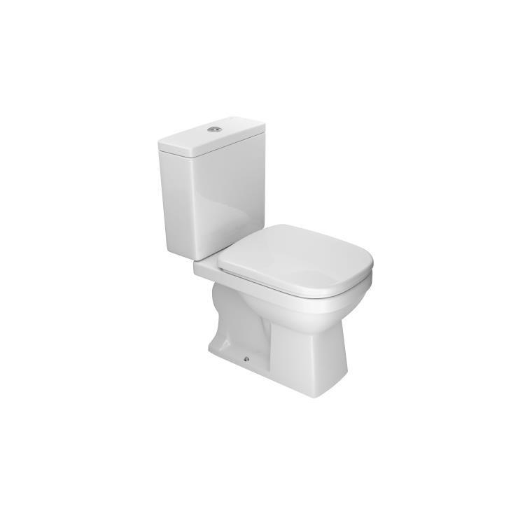 Kit Bacia Sanitaria e Caixa Acoplada 36 Litros Quadra com Acessorios Branca KP21017 - Deca