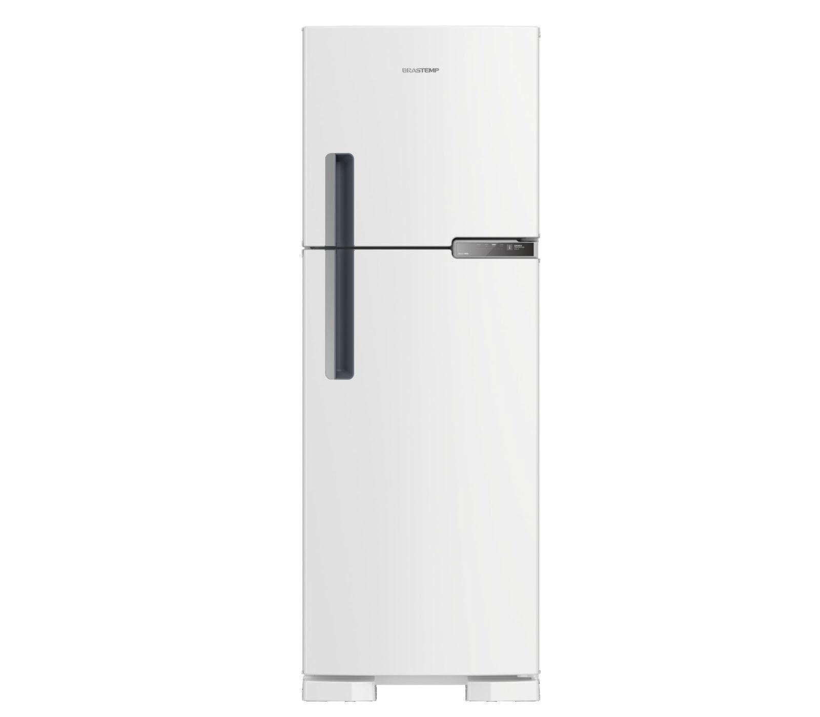 GeladeiraRefrigerador Brastemp Frost Free Duplex 375L Branco 220V - BRM44HBBNA
