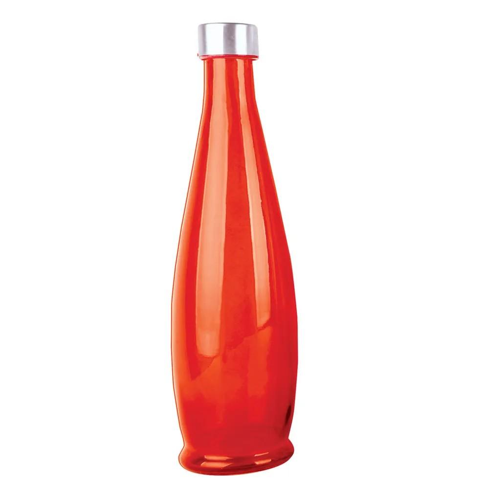 Garrafa de Vidro Vermelha 1L com Tampa 20227017P - Biachini