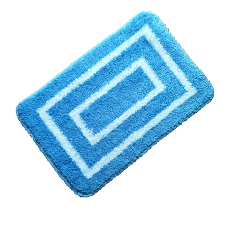 Tapete de Banheiro Antiderrapante 40x60cm Azul JD611 - Bianchini