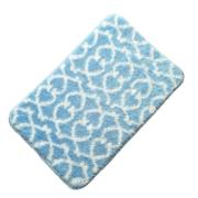 Tapete de Banheiro Antiderrapante 40x60 Azul JD605 - Bianchini