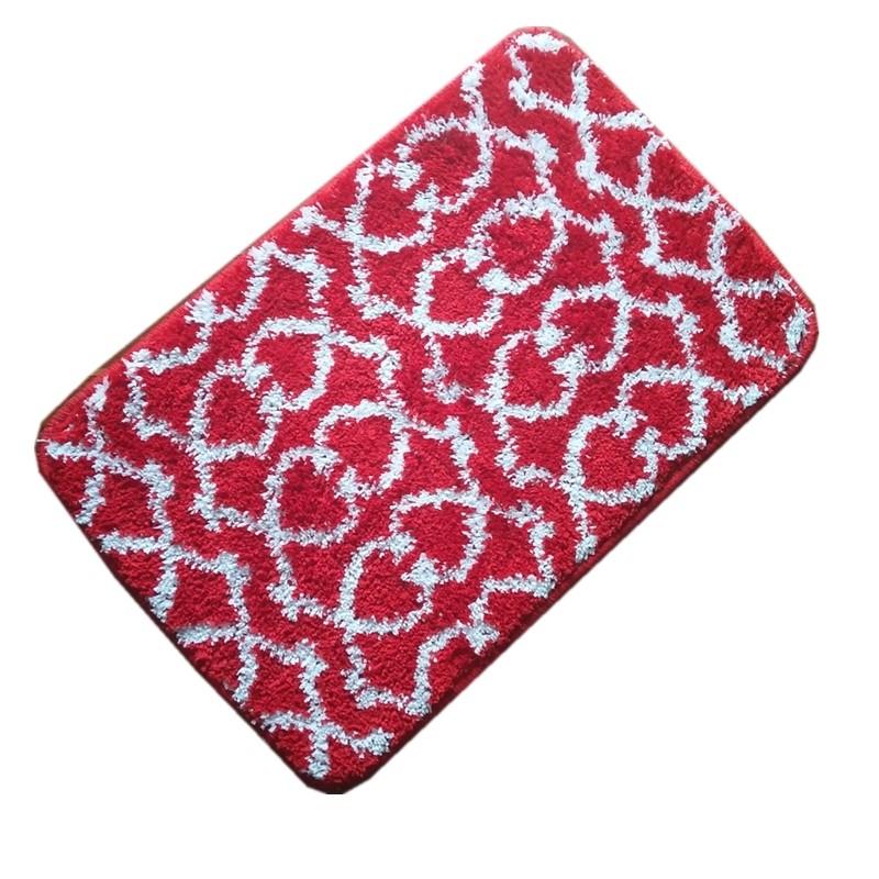 Tapete de Banheiro Antiderrapante 40x60cm Vermelho - Bianchini