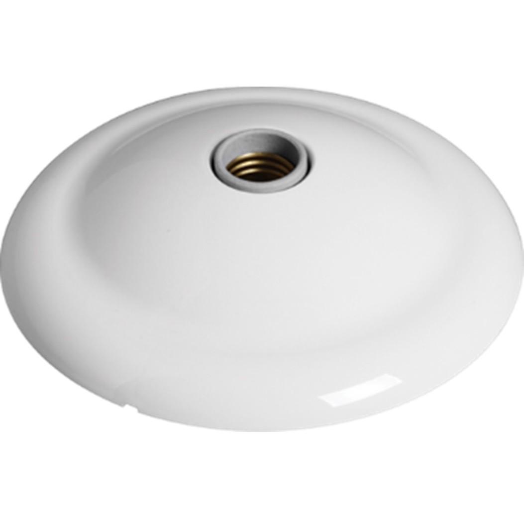 Plafon de Sobrepor Redondo 1 Lampada 21500cm Branco - Ilumi