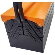 Caixa para Ferramentas de Aço Sanfonada 5 Gavetas 15558 - Presto