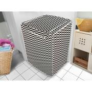 Capa para Maquina de Lava PVC 98x60cm Zig Zag - Vida Pratika Ud