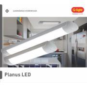 Luminária de Sobrepor LED 60cm 18W Branca Bivolt - Glight