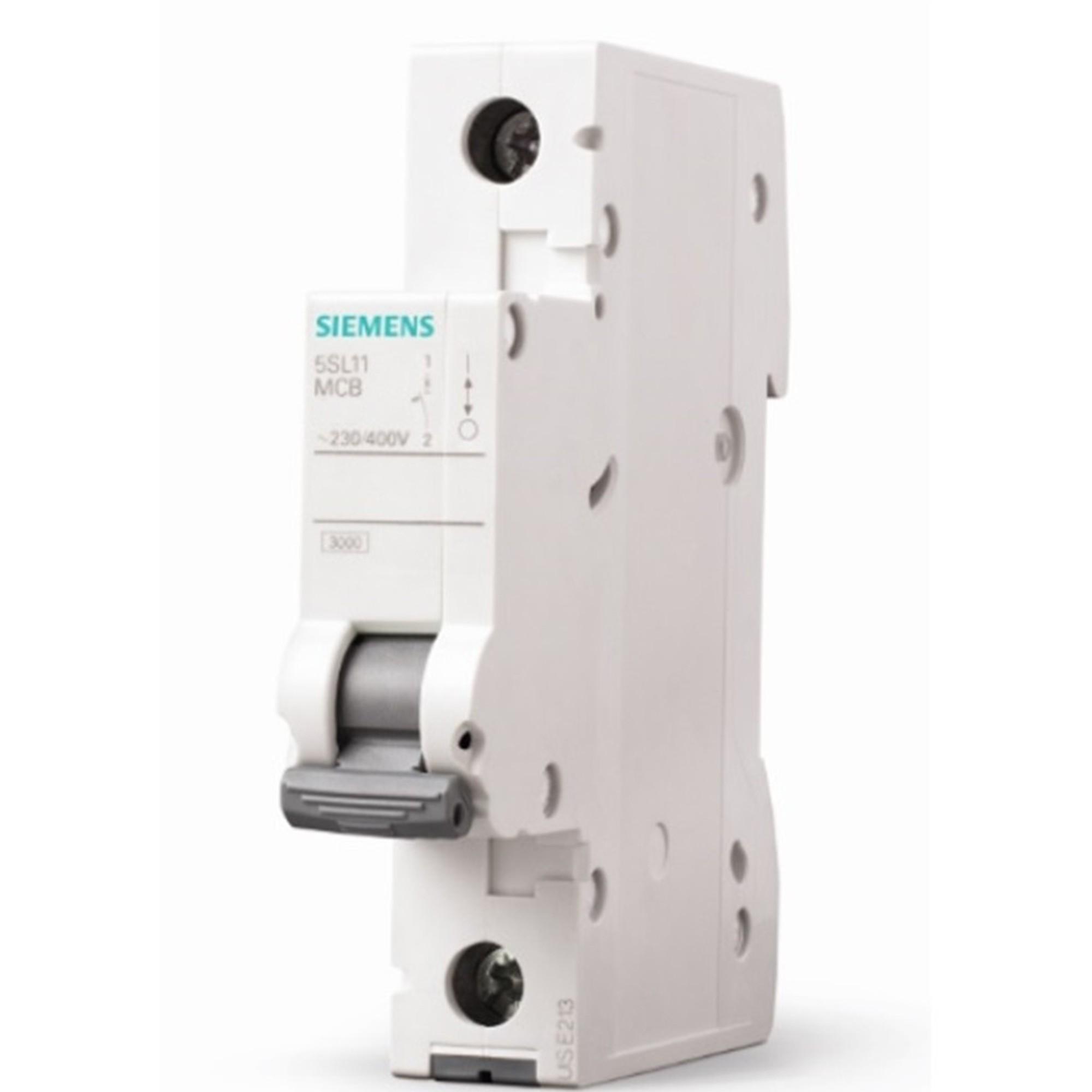 Disjuntor DIN Monopolar 250440 VCA 4A Tipo C - Siemens 5SL11047MB