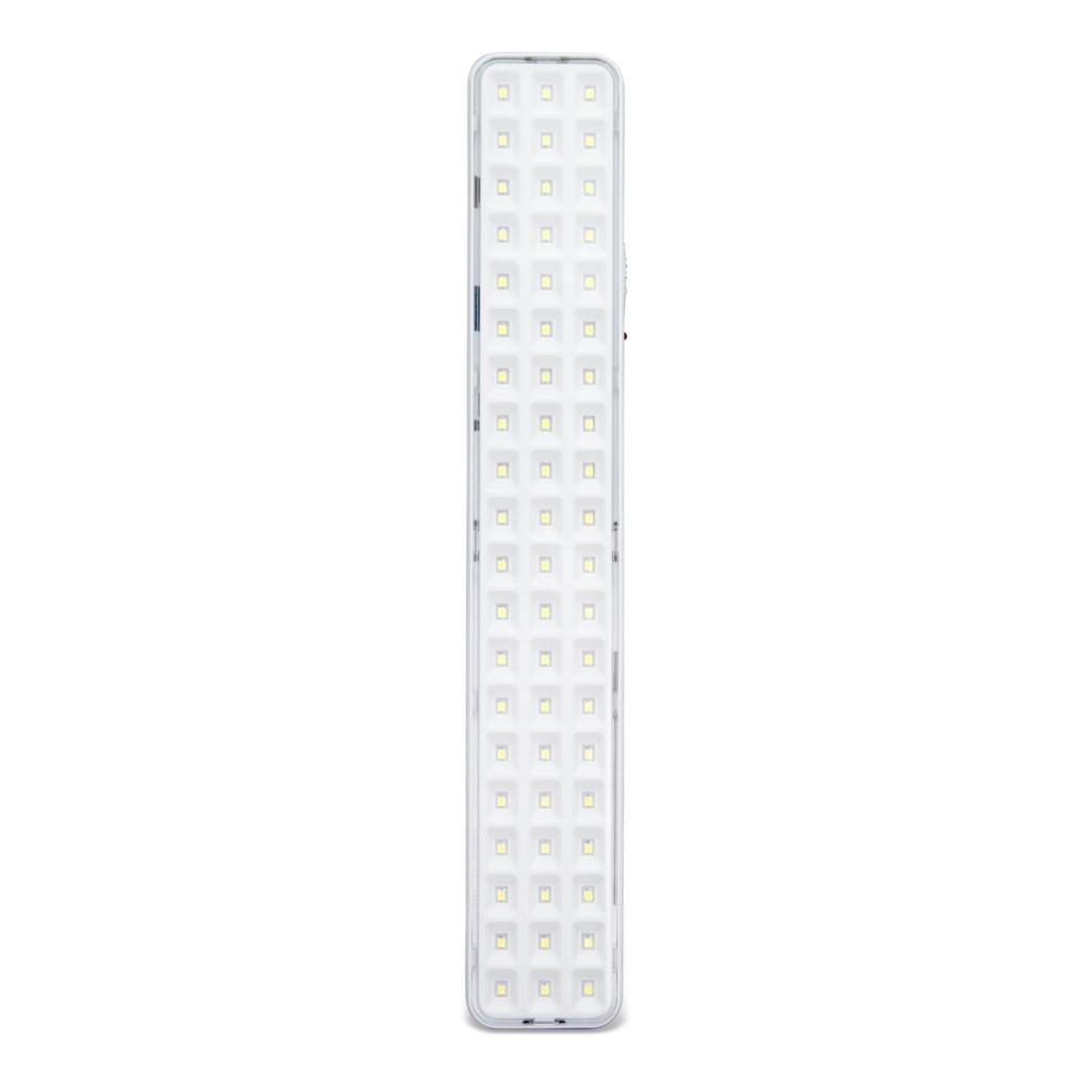 Luminaria De Emergencia Led Integrado 60 Lampadas 4W Bivolt - Branca - Segurimax