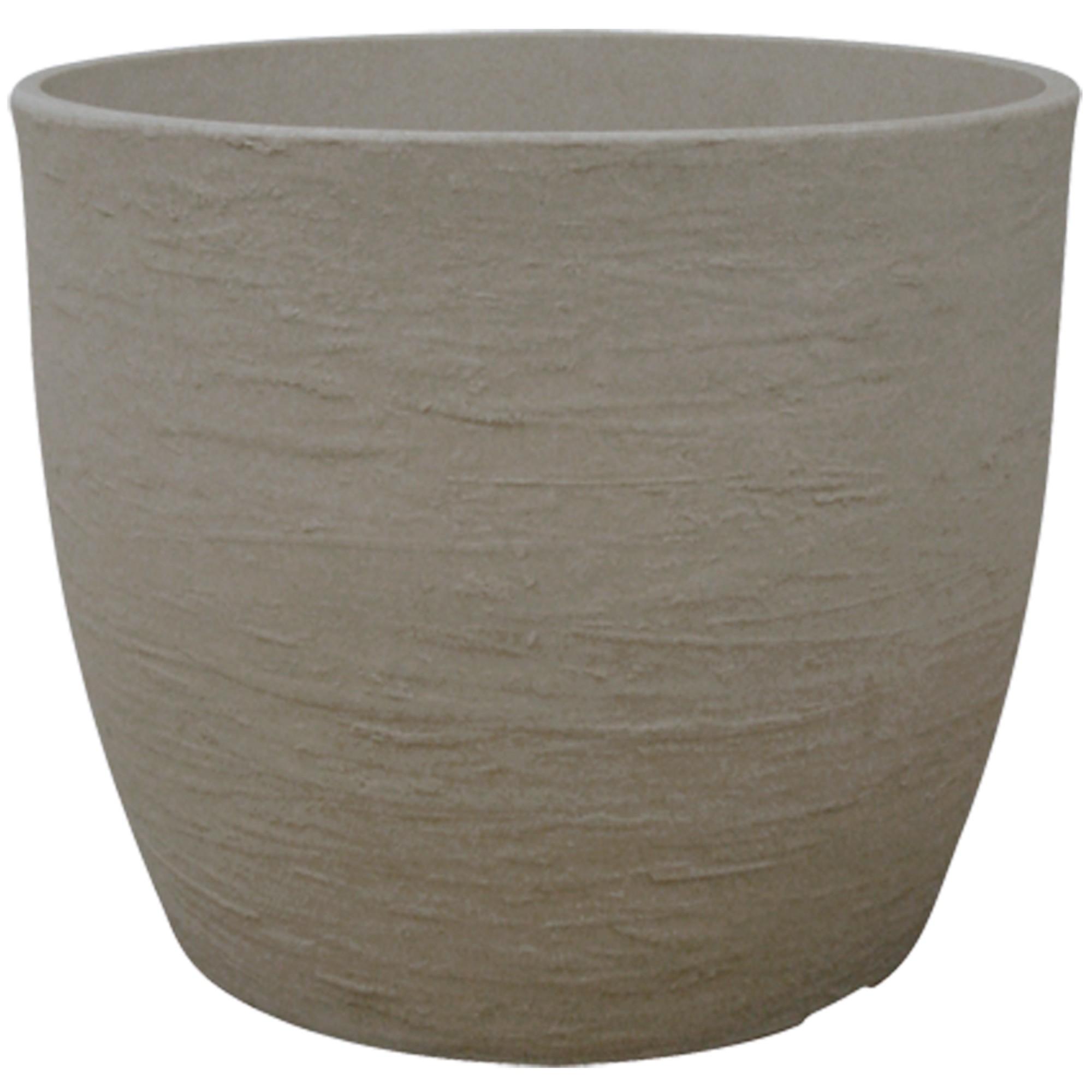 Vaso para Plantas Polietileno 42x51 cm Europa Marmore - Japi
