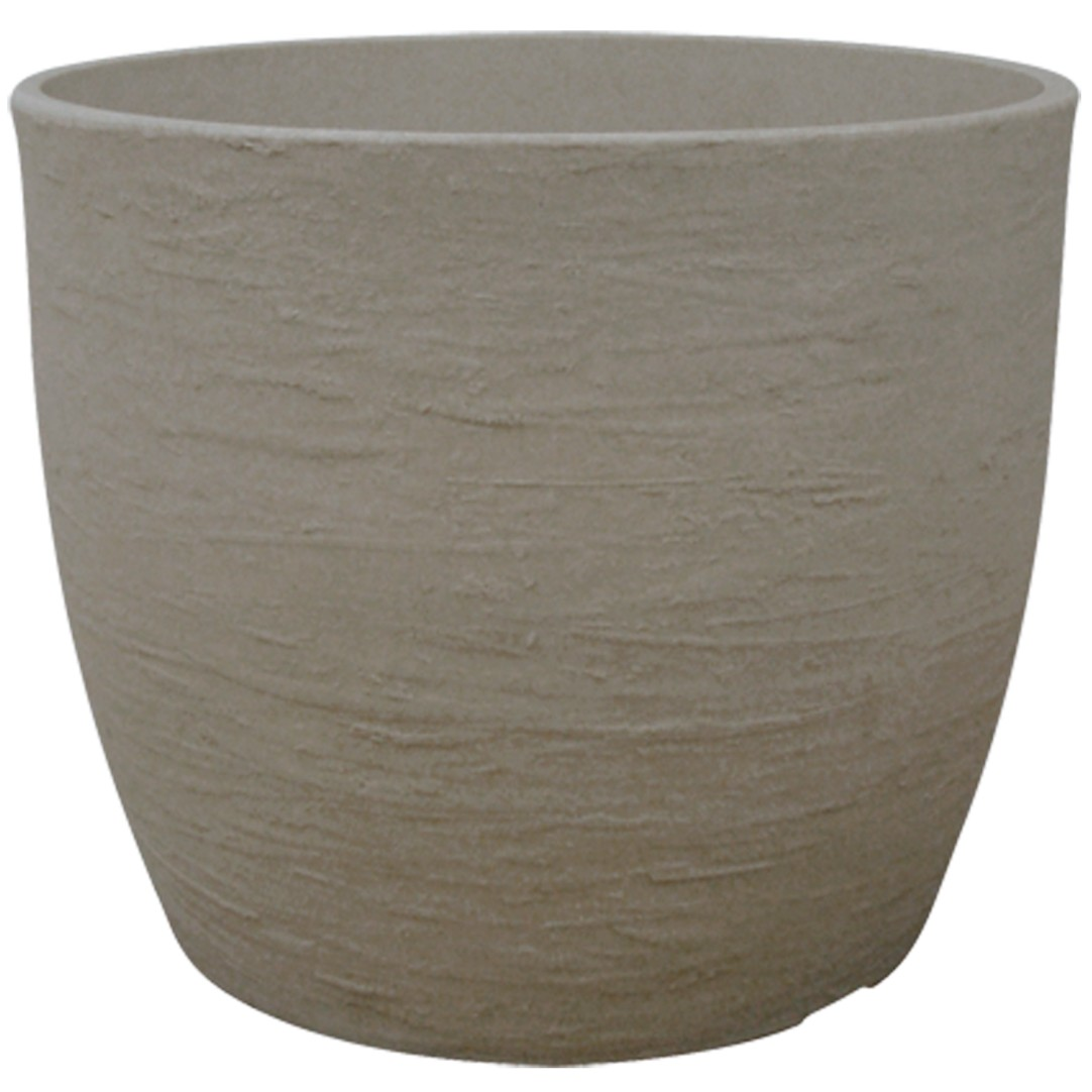 Vaso para Plantas Polietileno 28x33 cm Europa Marmore - Japi