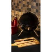 Churrasqueira Carvão 30 cm Preta - Bianchini